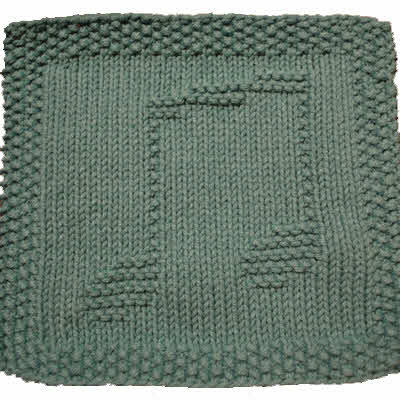 Organ Dust Cloth, Green